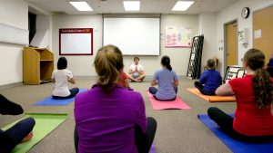 Yoga at Keck Hospital of USC